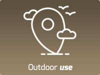 Outdoor use
