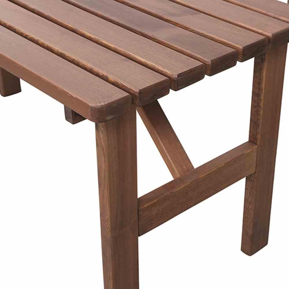 h g tessin tisch eckig 150x72 cm braun jetzt f r haus und garten 24 7 online kaufen. Black Bedroom Furniture Sets. Home Design Ideas