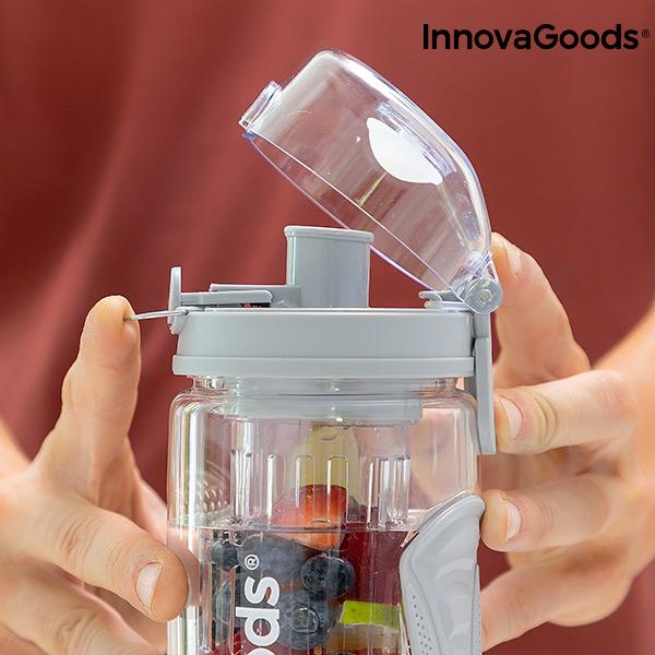 Silikonisolierhülle Infruitssion XL Sportflasche mit Fruchteinsatz