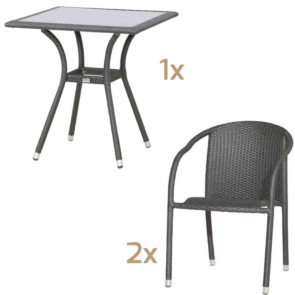 gartenstuhl siena garden wien polyrattan stapelsessel titan rattansessel jetzt f r haus und. Black Bedroom Furniture Sets. Home Design Ideas