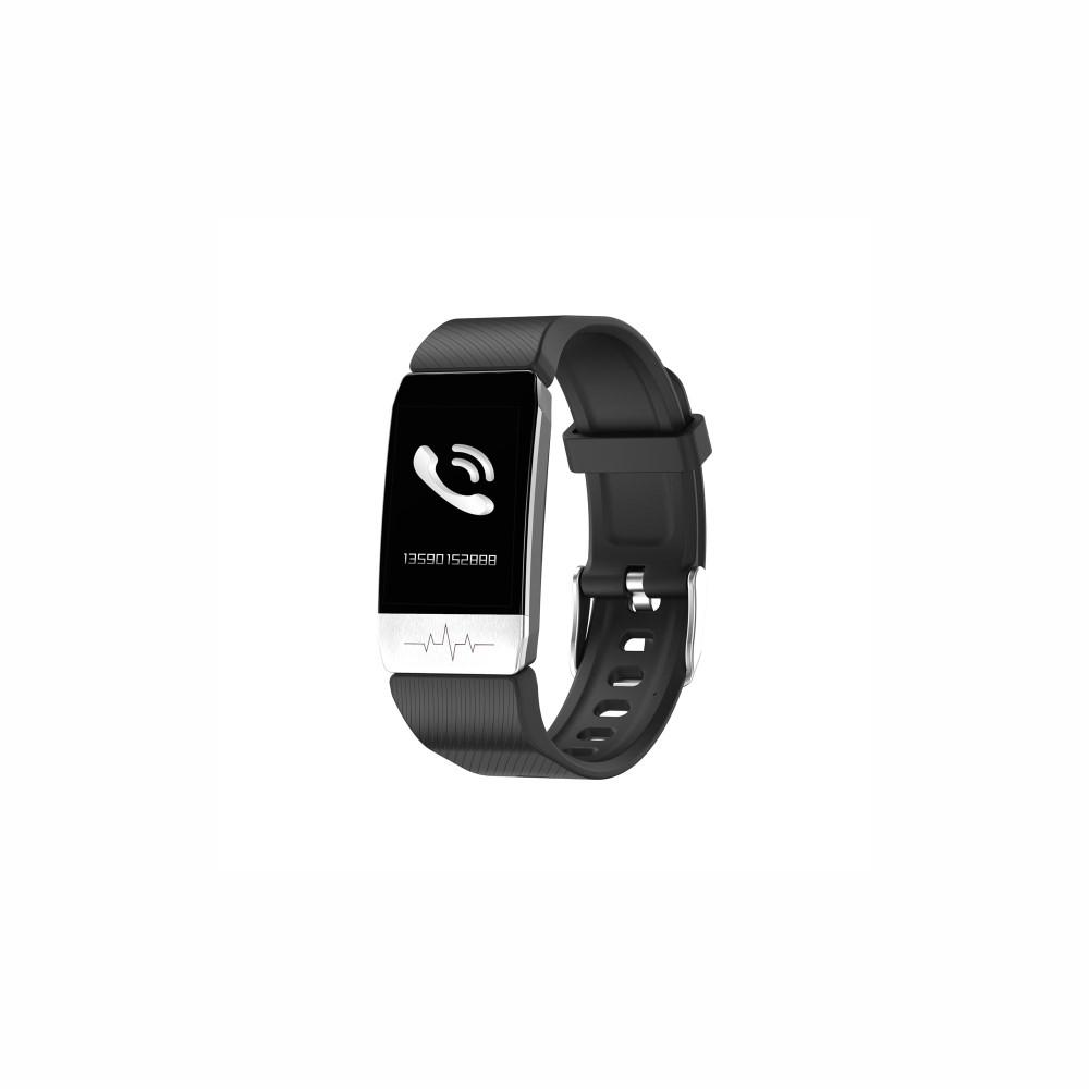 Activity-Armband KSIX Thermometer HR 1,4 Bluetooth 90 mAh Schwarz