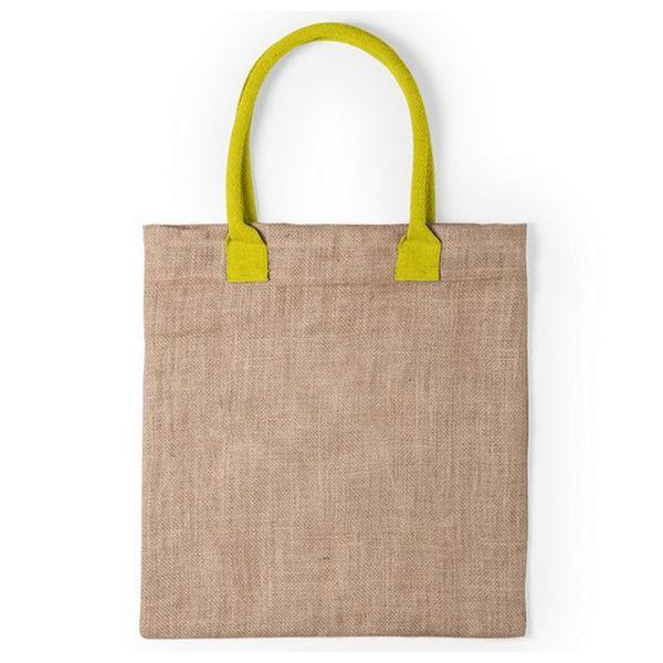 Jute Bag 145808 (38 X 41 Cm) Fuchsia-afficher Le Titre D'origine