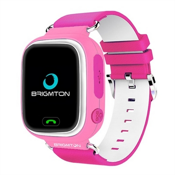 Kinder-Smartwatch BRIGMTON BWATCH-KIDS BWATCH-KIDS BWATCH-KIDS 122 WIFI GPS Orange 4973d3