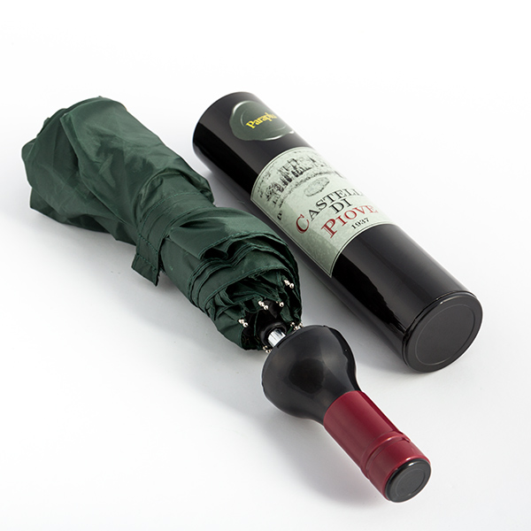 Des Bouteilles Parapluie-genschirmafficher Le Titre D'origine